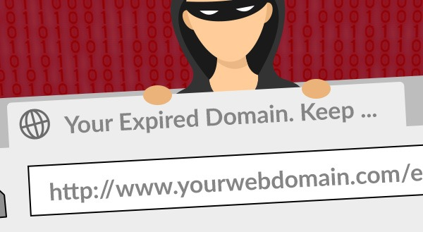 Cyber criminal stealing your domain.