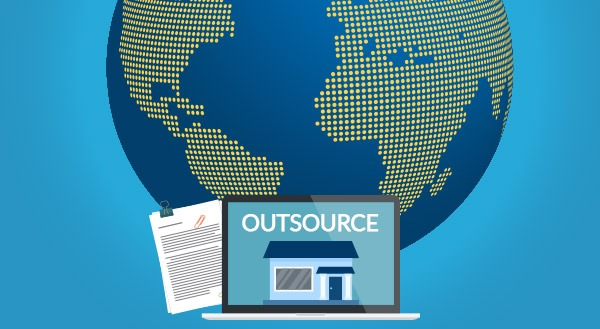 Outsourcing as a small business.